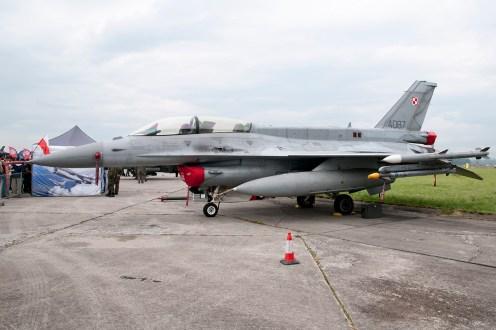 © Duncan Monk - Polish Air Force Lockheed Martin F-16D 4087 - Ostrava NATO Days 2016