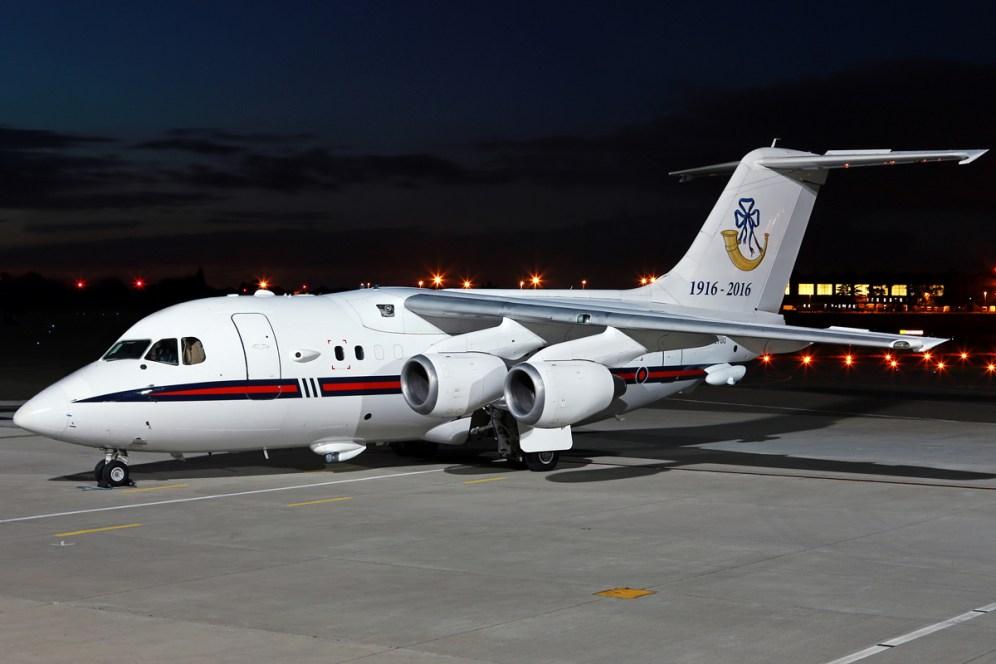 © Mark Kwiatkowski - Royal Air Force BAe 146 CC.2 ZE700 - Northolt Nightshoot XXI