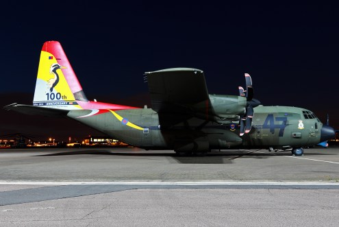 © Mark Kwiatkowski - Royal Air Force Lockheed C-130J-30 Hercules C.5 ZH880 - Northolt Nightshoot XXI