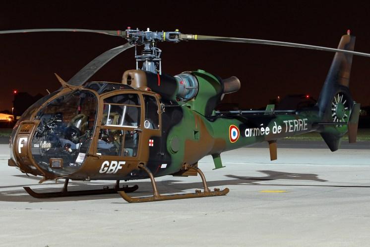 © Mark Kwiatkowski - Armée de Terre Aerospatiale SA-342M Gazelle 4059/GBF - Northolt Nightshoot XXI