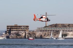 ©Adam Duffield - USCG MH-65D Dolphin - San Francisco Fleet Week 2016