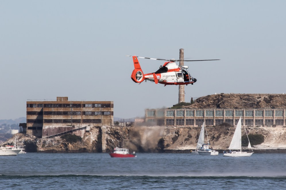 © Adam Duffield - USCG MH-65D Dolphin - San Francisco Fleet Week 2016