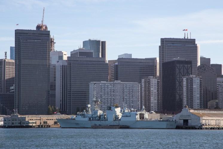©Adam Duffield - HMCS Calgary (FFH 335) - San Francisco Fleet Week 2016