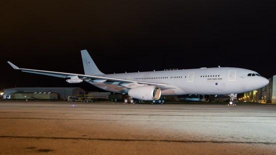 © Adam Duffield - Airbus A330 Voyager KC2 ZZ343 - RAF Brize Norton Nightshoot