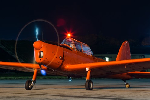 © Adam Duffield - de Havilland Chipmunk WP903 - RAF Brize Norton Nightshoot