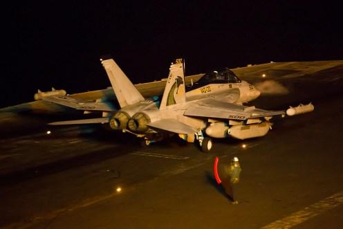 © Ben Montgomery - Boeing EA-18G Growler 168268 - USS Dwight D Eisenhower