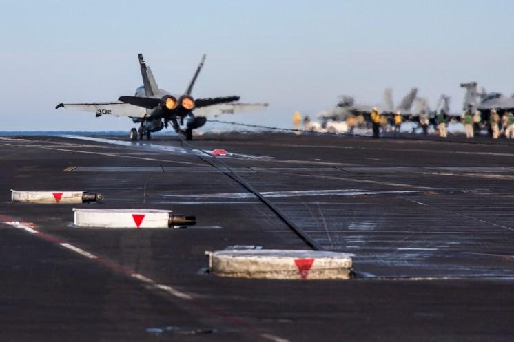 © Ben Montgomery - Boeing F/A-18C Hornet 165312 - USS Dwight D Eisenhower