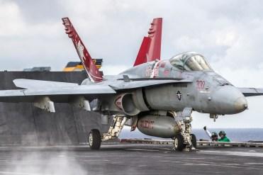 © Ben Montgomery - Boeing F/A-18C Hornet 165221 - USS Dwight D Eisenhower