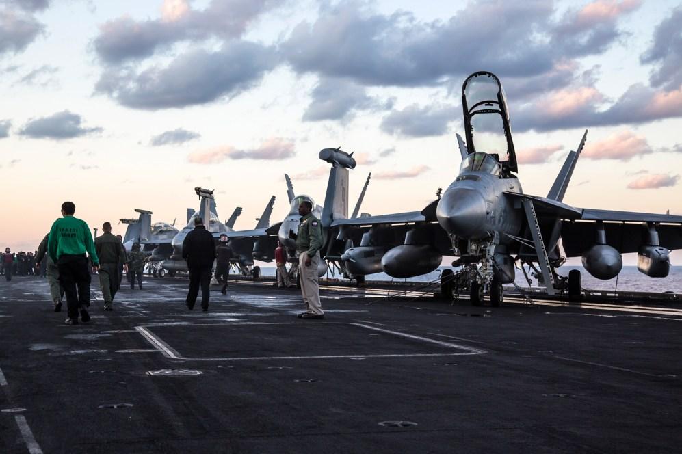 © Ben Montgomery - Boeing EA-18G Growler - USS Dwight D Eisenhower