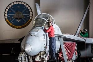© Ben Montgomery - Boeing F/A-18F Super Hornet - USS Dwight D Eisenhower