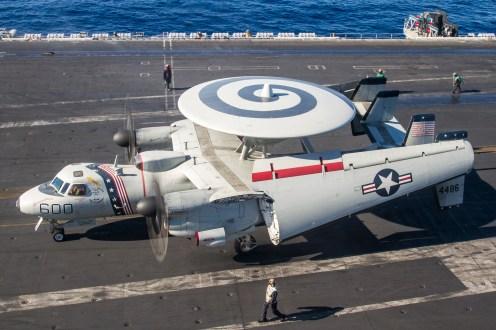 © Ben Montgomery - Northrop Grumman E-2C Hawkeye 164486 - USS Dwight D Eisenhower