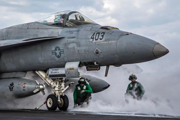 © Ben Montgomery - Boeing F/A-18E Super Hornet - USS Dwight D Eisenhower