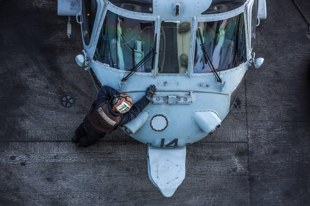 © Ben Montgomery - Sikorsky MH-60S Knighthawk 167870 - USS Dwight D Eisenhower