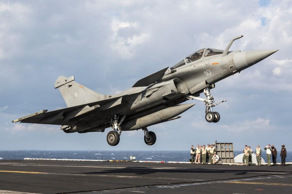 © Ben Montgomery - Dassault Rafale M 10 - USS Dwight D Eisenhower
