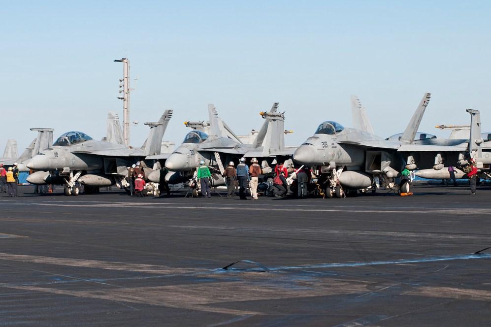 © Duncan Monk - Boeing F/A-18F Super Hornet - USS Dwight D Eisenhower