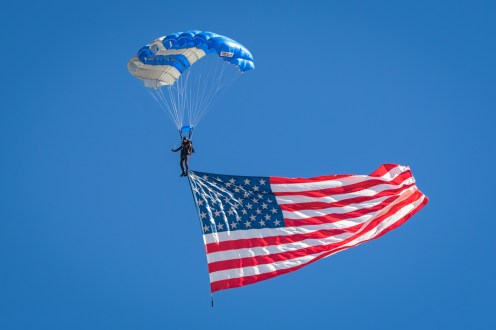 © Paul Smith - Wings of Blue Parachute Team - Nellis Aviation Nation 2016