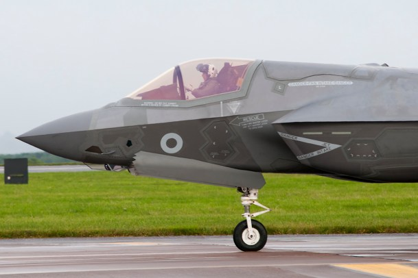 © Duncan Monk - Lockheed Martin F-35 Lightning II arrival in the UK - AeroResource 2016 Highlights