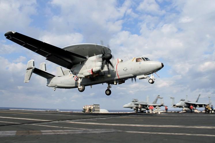 © Jamie Ewan - Northrop Grumman E-2C Hawkeye 165456/2 - USS Dwight D Eisenhower