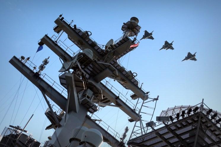 © Jamie Ewan - Dassault Rafale Ms - USS Dwight D Eisenhower