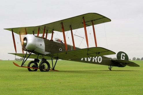 © Jamie Ewan - Sywell Aerodrome – October – Avro 504 (Replica) - AeroResource 2016 Highlights