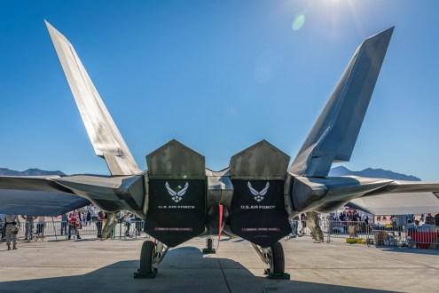 © Paul Smith - Lockheed Martin F-22A Raptor - Nellis Aviation Nation 2016