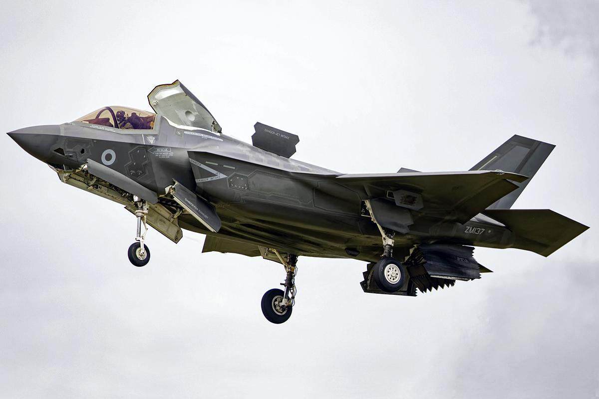 © Mark Kwiatkowski - First RAF F-35 to land on UK soil - AeroResource 2016 Highlights