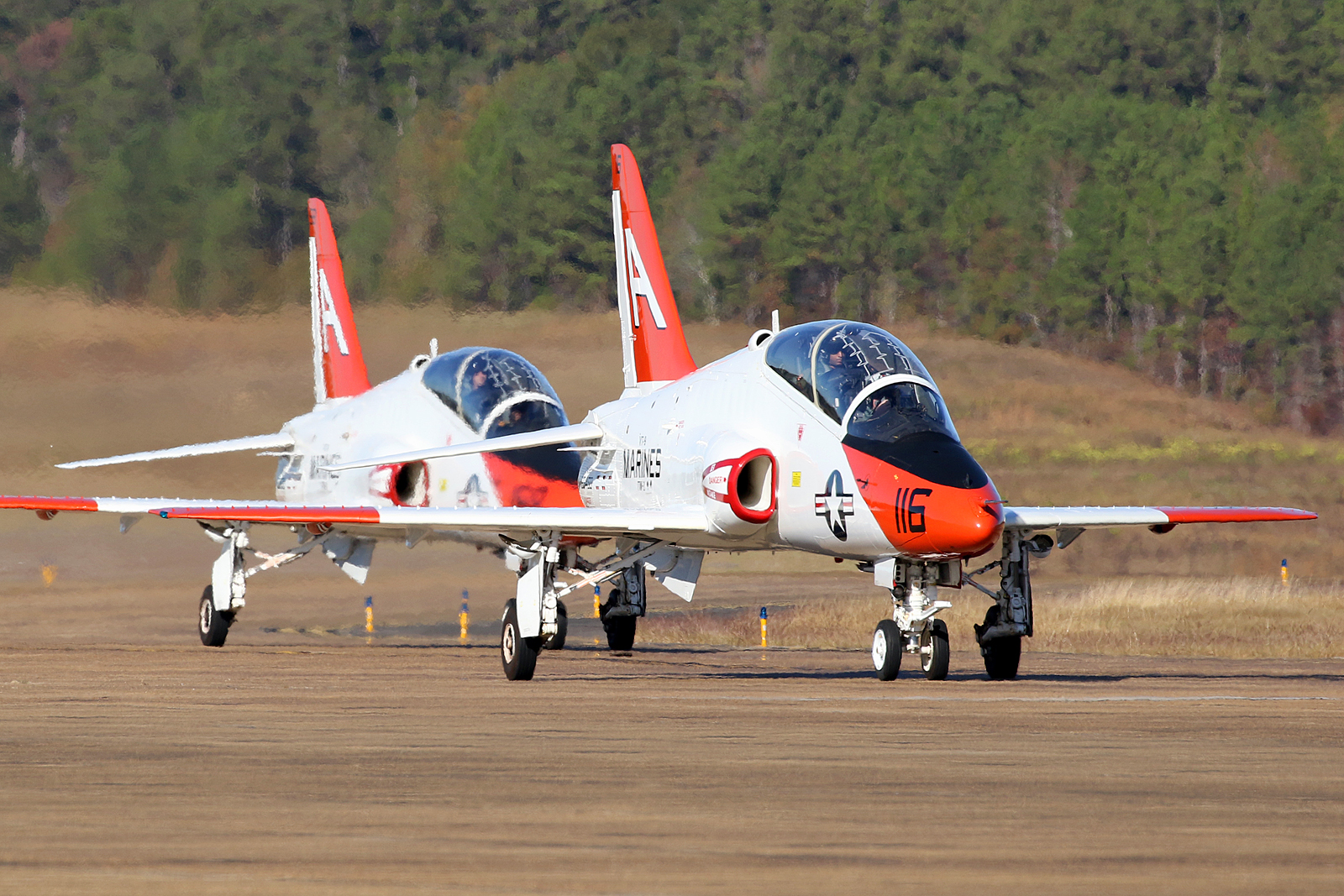 © Mark Forest - McDonnell Douglas T-45C Goshawk pair TAW-1 - US Naval Air Training Command