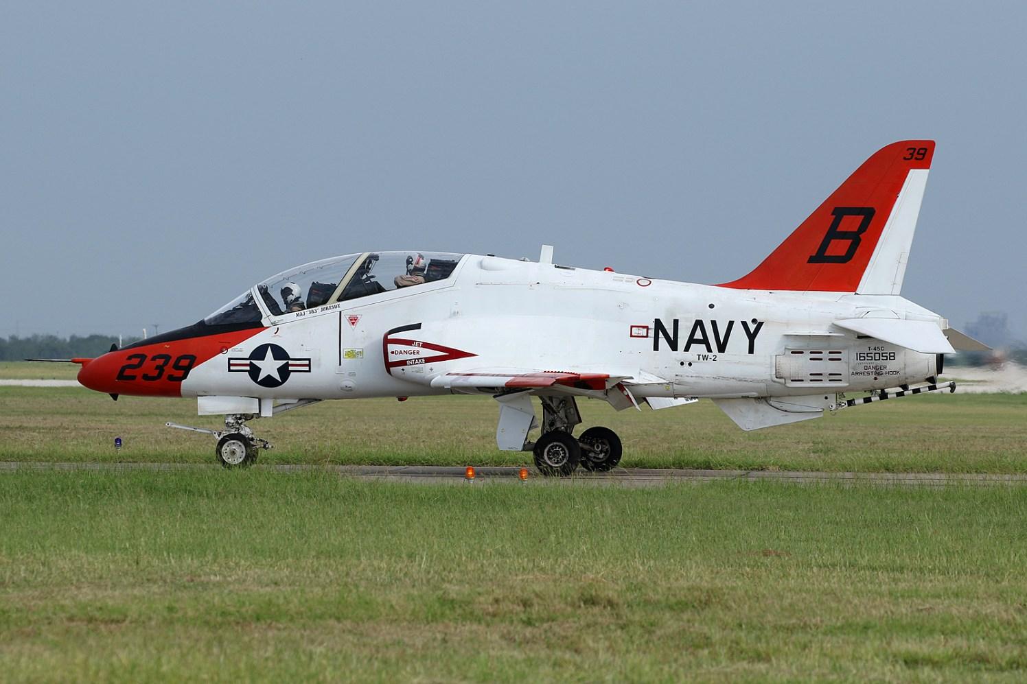©Mark Forest - McDonnell Douglas T-45C Goshawk 165058 TAW-2 - US Naval Air Training Command