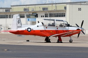 ©Mark Forest - Beechcraft T-6B Texan II 166234 TAW-4 - US Naval Air Training Command