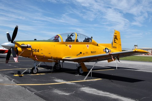 © Mark Forest - Beechcraft T-6B Texan II 166064 TAW-5 - US Naval Air Training Command