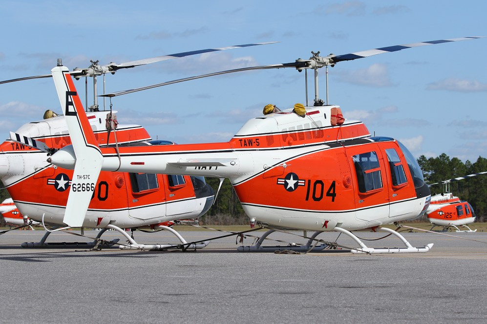 © Mark Forest - Bell TH-57C Sea Ranger 162666 TAW-5 - US Naval Air Training Command