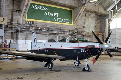 ©Mark Forest - Beechcraft T-6A Texan II 165965 TAW-6 - US Naval Air Training Command