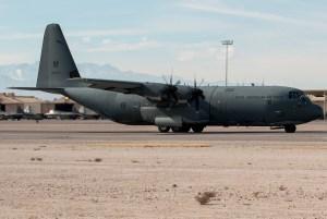 © Kevin Bell - RAAF C-130J-30 A97-468 - Red Flag 17-1