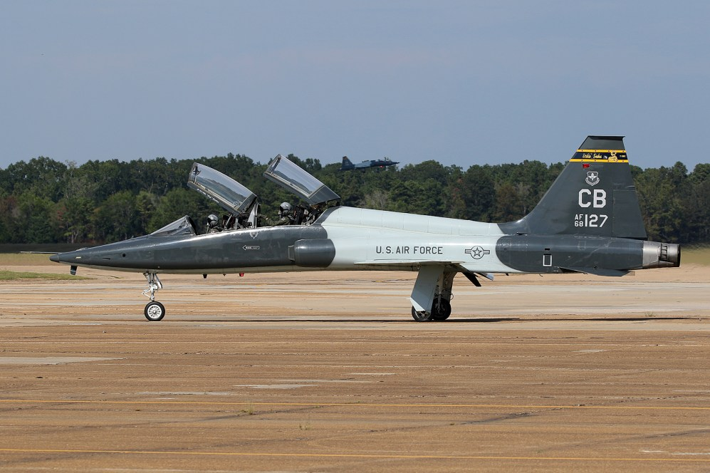 ©Mark Forest - T-38C Talon 68-8127 - US Air Force Air Education and Training Command