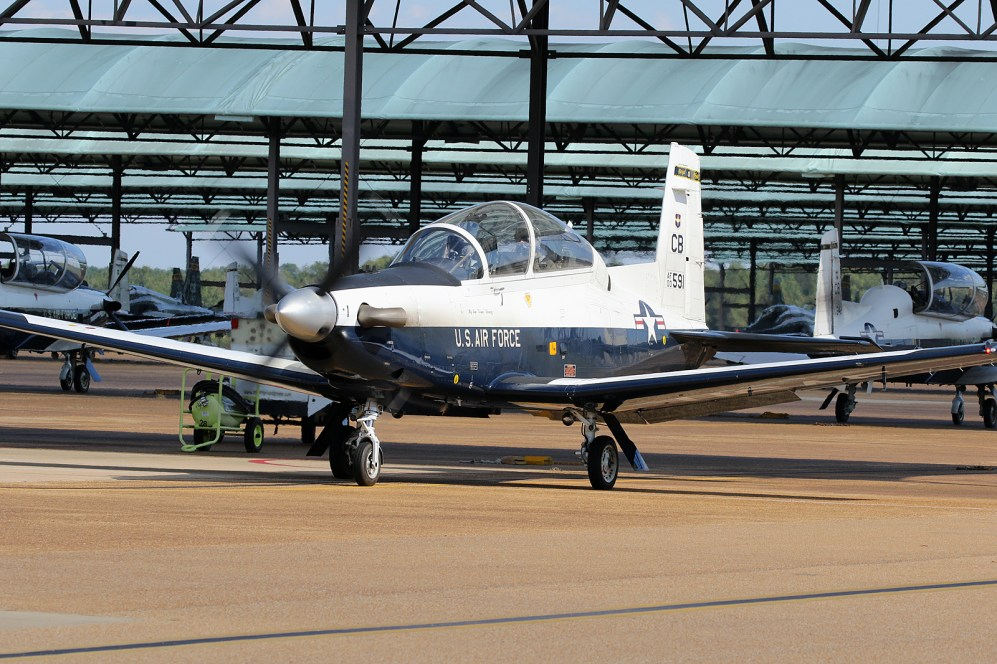 ©Mark Forest - Raytheon Beech T-6A Texan II 00-3591 - US Air Force Air Education and Training Command