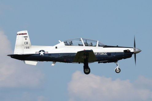 © Mark Forest - Raytheon Beech T-6A Texan II 01-3616 - US Air Force Air Education and Training Command