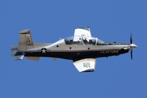 ©Mark Forest - Raytheon Beech T-6A Texan II 02-3651 - US Air Force Air Education and Training Command