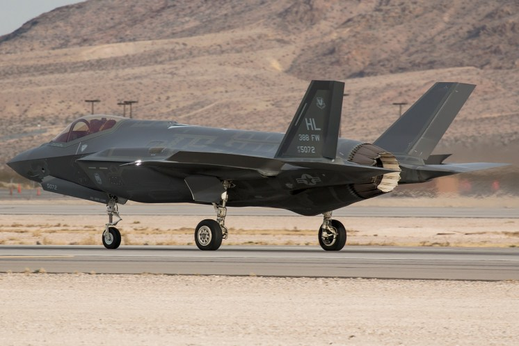 © Kevin Bell - USAF F-35A 13-5072 - Red Flag 17-1