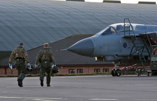 © Niall Paterson - XR Sqn Crew walk to their jet - XV(R) Squadron Photo Event