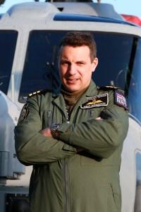 ©Mark Kwiatkowski - Commander Philip Richardson, Commanding Officer of 815 NAS - Royal Navy Lynx Retirement