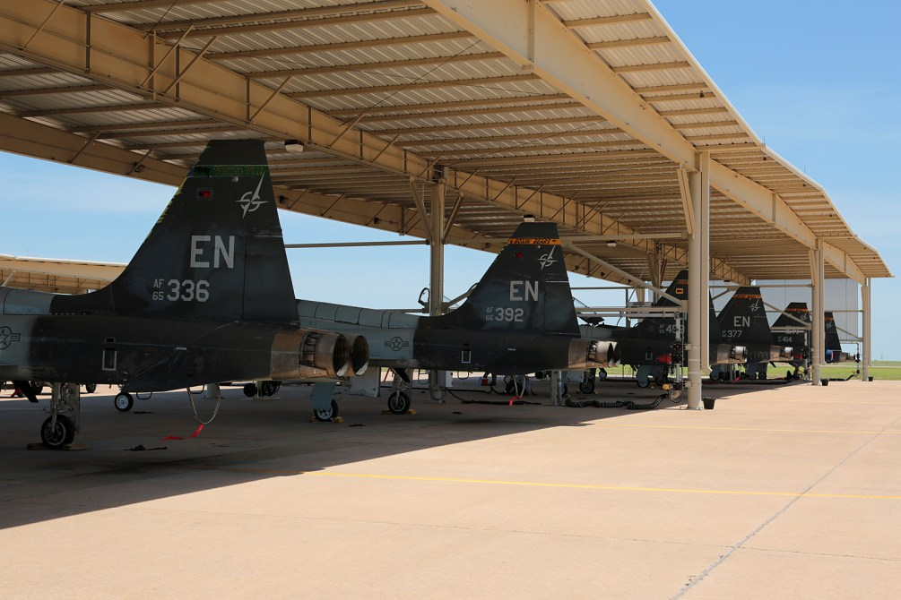 ©Mark Forest - T-38C Talon Flight Line - US Air Force Air Education and Training Command