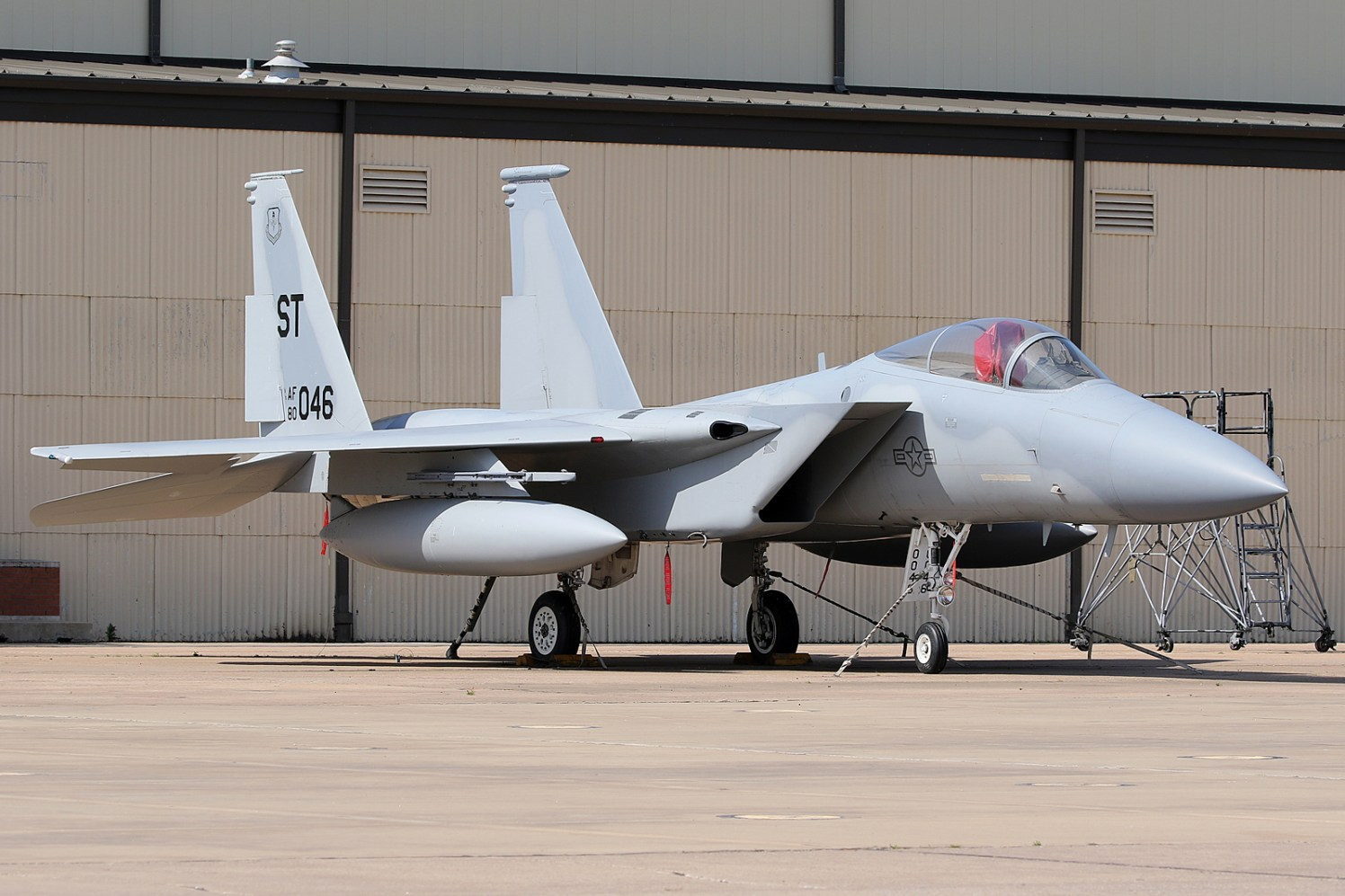 ©Mark Forest - F-15C Eagle 80-0046 - US Air Force Air Education and Training Command