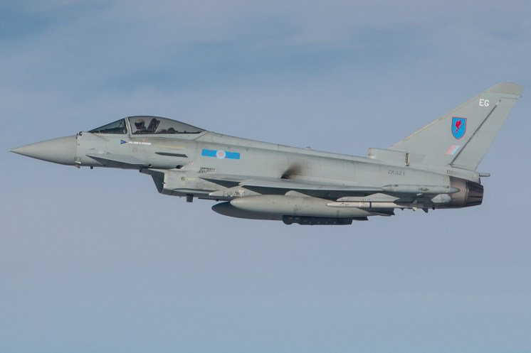 © Kevin Bell - RAF Typhoon FGR4 ZK321 - Red Flag 17-1