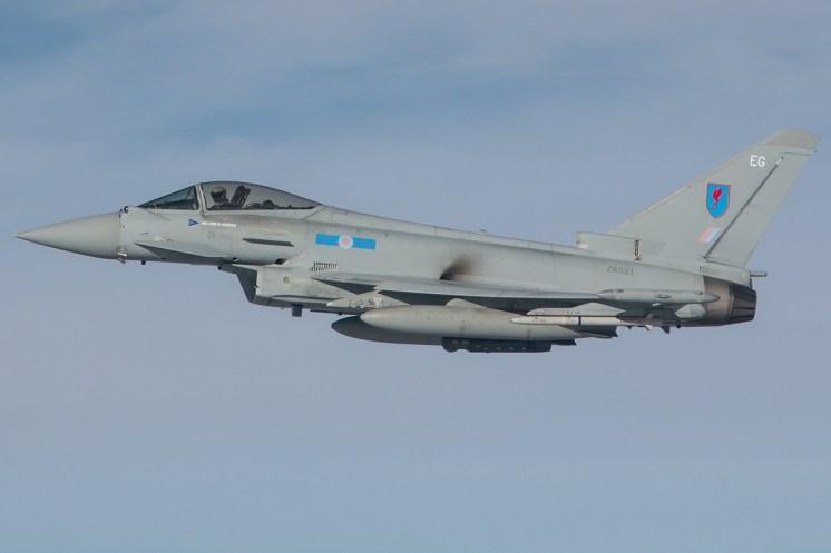 © Kevin Bell - RAF Typhoon FGR4 ZK321 - Red Flag 17-1