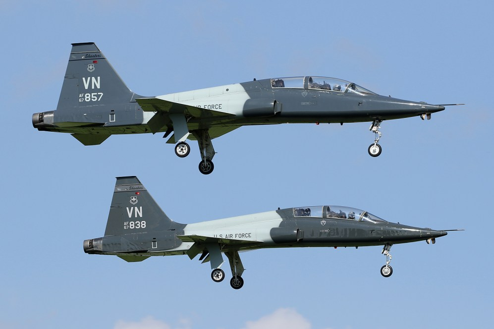 ©Mark Forest - T-38C 67-14857 and 67-14838 - US Air Force Air Education and Training Command