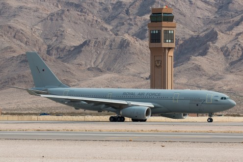 © Kevin Bell - RAF Voyager ZZ335 - Red Flag 17-1