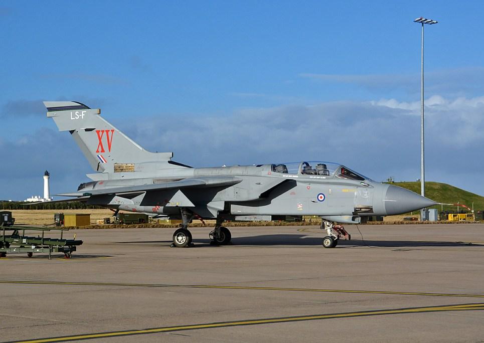 © Niall Paterson - Panavia Tornado GR4 ZD741 XV Sqn Special Tail - XV(R) Squadron Photo Event