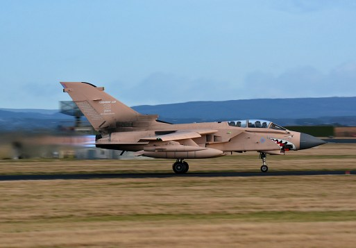 © Niall Paterson - Panavia Tornado GR4 ZG750 - XV(R) Squadron Photo Event