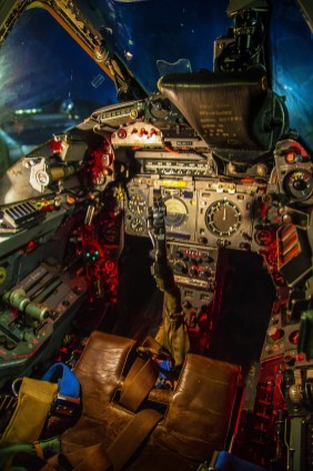© Rob Yates - XR728/JS Cockpit - Lightning Preservation Group Nightshoot