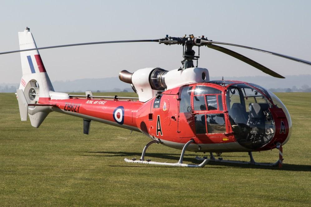© Adam Duffield - Ex-RAF WA.341D HT.3 G-CBSK / ZB627 - Gazelle 50th Anniversary Fly-in